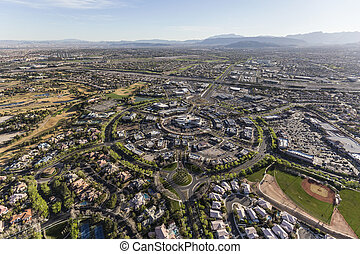 Summerlin Nevada Aerial