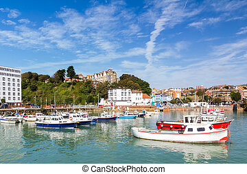 Folkstone Harbour - Summers day at Folkstone Harbour Kent...