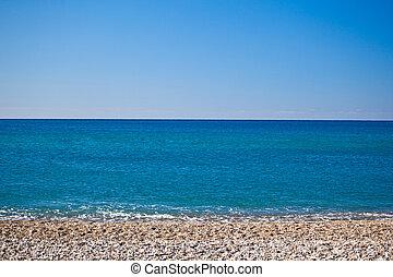 summertime, aan het strand