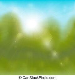 Summertime background