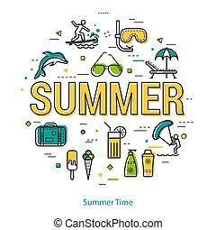 SummerTime - linear concept