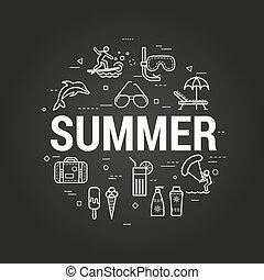 SummerTime on black