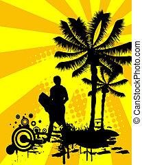 summertime - surfing
