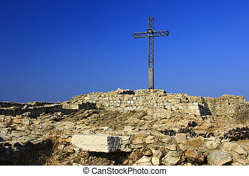 Summit Cross Rocca di Manerba Italy