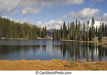 Lake at Kootenay Pass