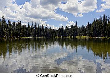 Summit Lake Lassen National Park