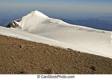 Summit of Mount Rainier, Washington