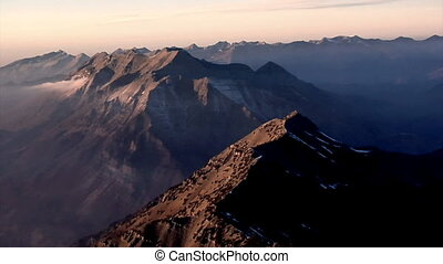 Summit Peak - A beautiful roaming view of a landscape of...