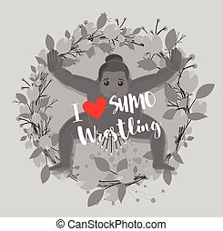sumo, amor, wrestling