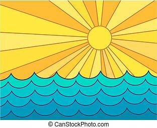 sun., θάλασσα