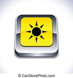 Sun 3d button.