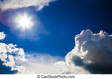 Sun And Beautiful Clouds