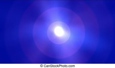 sun and halo,underwater clip of sun