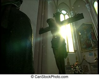 SUN and Jesus crucified 1