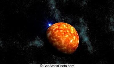Sun and UFO