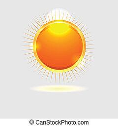 sun background.