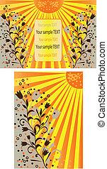 Sun backgrounds
