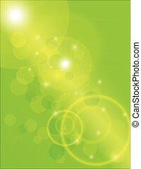 Sun Beams with Green Background - Sun Beams with Green...