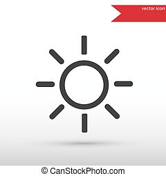 Sun black icon vector and jpg. Flat style object. Art picture drawing. Eps 10. Web icons.