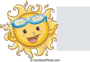 Sun Board Mascot