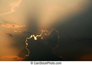 Sun Breaking Through
