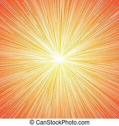 Sun Burst Blast Background - Sun Burst Blast Speed Line...