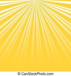 Sun Burst Design