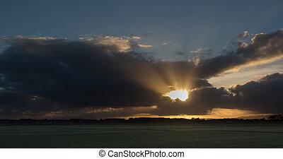 Sun Cloud Brust