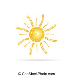 sun color vector