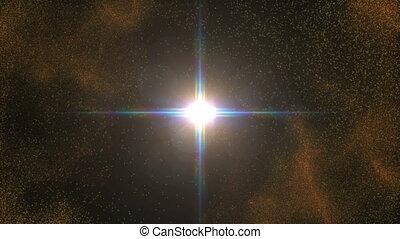 sun explosion