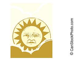 Sun Face #2