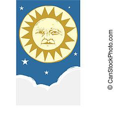 Sun Face #4