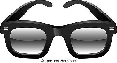 Classic sun glasses illustration.