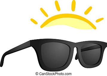 Sun glasses - Creative design of sun glasses