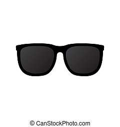 Sun glasses icon isolated on white background