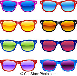 Sun glasses set - Set of different sun glasses for your ...