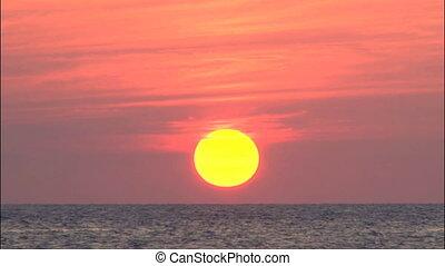 Sun going down till verizon line