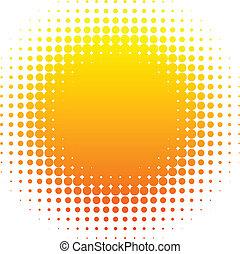 sun., halftone