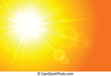 Sun Horizontal background
