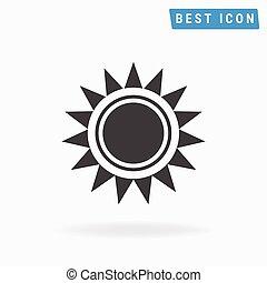 sun Icon. vector icon eps10.