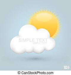 Sun in the cloud