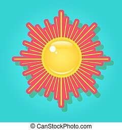 Sun in the sky