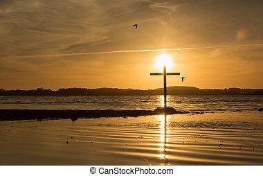 Sun Lake Cross