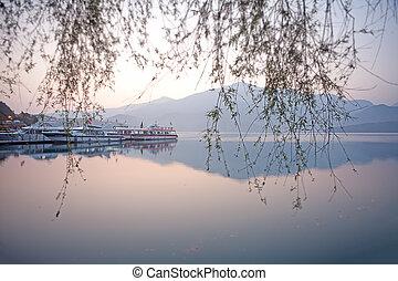 Sun Moon Lake Dawn, Nantou, Taiwan