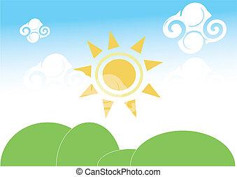 sun no sky