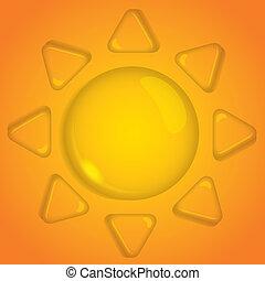 sun of water drop