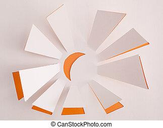 Sun origami