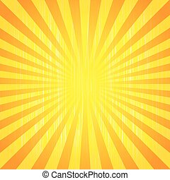 Sun rays - Abstract background of the shining sun-rays. Sun...
