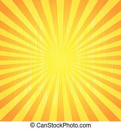 Sun rays - Abstract background of the shining sun-rays. Sun...