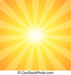 Sun-rays abstract background